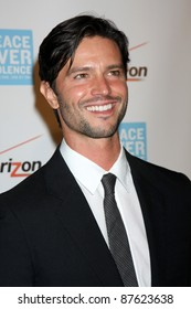 LOS ANGELES - OCT 28:  Jason Behr arriving at the Peace Over Violence 40th Annual Humanitarian Awards Dinner  at Beverly Hills Hotel on October 28, 2011 in Beverly Hills, CA