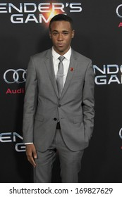 """LOS ANGELES - OCT 28:  Khylin Rhambo at the """"Ender's Game"""" Los Angeles Premiere at TCL Chinese Theater on October 28, 2013 in Los Angeles, CA"""