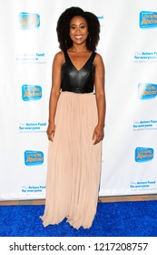LOS ANGELES - OCT 28:  Zuri Adele at the 2018 Looking Ahead Awards at the Taglyan Cultural Complex on October 28, 2018 in Los Angeles, CA