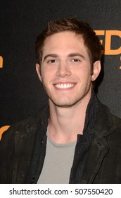"""LOS ANGELES - OCT 29:  Blake Jenner at the """"Edge of Seventeen"""" Photo Call at Four Seasons Hotel on October 29, 2016 in Beverly Hills, CA"""