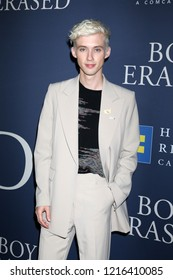 """LOS ANGELES - OCT 29:  Troye Sivan at the """"Boy Erased"""" Premiere at the Directors Guild of America Theater on October 29, 2018 in Los Angeles, CA"""