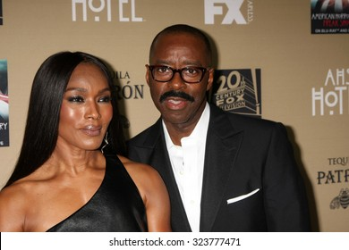 "LOS ANGELES - OCT 3:  Angela Bassett, Courtney B Vance at the ""American Horror Story: Hotel"" Premiere Screening at the Regal 14 Theaters on October 3, 2015 in Los Angeles, CA"
