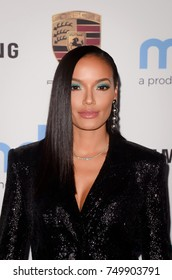 LOS ANGELES - OCT 3:  Selita Ebanks at the Goldie's Love In For Kids at the Green Acres Estate on October 3, 2017 in Beverly Hills, CA