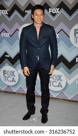 LOS ANGELES - OCT 4:  Harry Shum Jr. arrives at the 2013 FOX Winter TCA All Star Party  on January 8, 2013 in Pasadena, CA