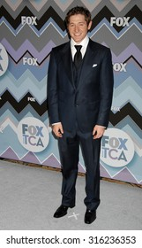 LOS ANGELES - OCT 4:  Lucas Neff arrives at the 2013 FOX Winter TCA All Star Party  on January 8, 2013 in Pasadena, CA