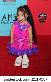 """LOS ANGELES - OCT 5:  Jyoti Amge at the """"American Horror Story: Freak Show"""" Premiere Event at TCL Chinese Theater on October 5, 2014 in Los Angeles, CA"""