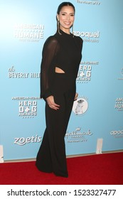 LOS ANGELES - OCT 5:  Roselyn Sanchez at the 9th Annual American Humane Hero Dog Awards at the Beverly Hilton Hotel on October 5, 2019 in Beverly Hills, CA