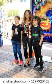 """LOS ANGELES - OCT 7:  Garcelle Beauvais at the """"Goosebumps 2: Haunted Halloween"""" Special Screening  at the Sony Pictures Studios on October 7, 2018 in Culver City, CA"""