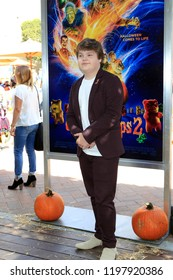 """LOS ANGELES - OCT 7:  Jeremy Ray Taylor at the """"Goosebumps 2: Haunted Halloween"""" Special Screening  at the Sony Pictures Studios on October 7, 2018 in Culver City, CA"""