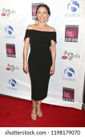 LOS ANGELES - OCT 7:  Julia Louis-Dreyfus at the 18th Annual Les Girls Cabaret at the Avalon Hollywood on October 7, 2018 in Los Angeles, CA