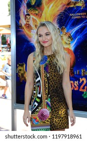 """LOS ANGELES - OCT 7:  Madison Iseman at the """"Goosebumps 2: Haunted Halloween"""" Special Screening  at the Sony Pictures Studios on October 7, 2018 in Culver City, CA"""