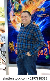 """LOS ANGELES - OCT 7:  Mick Wingert at the """"Goosebumps 2: Haunted Halloween"""" Special Screening  at the Sony Pictures Studios on October 7, 2018 in Culver City, CA"""