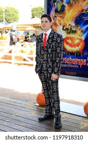 """LOS ANGELES - OCT 7:  Peyton Wich at the """"Goosebumps 2: Haunted Halloween"""" Special Screening  at the Sony Pictures Studios on October 7, 2018 in Culver City, CA"""