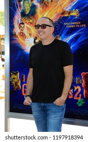 """LOS ANGELES - OCT 7:  Rob Lieber at the """"Goosebumps 2: Haunted Halloween"""" Special Screening  at the Sony Pictures Studios on October 7, 2018 in Culver City, CA"""