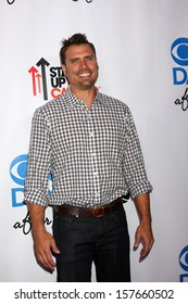 LOS ANGELES - OCT 8:  Joshua Morrow at the CBS Daytime After Dark Event at Comedy Store on October 8, 2013 in West Hollywood, CA