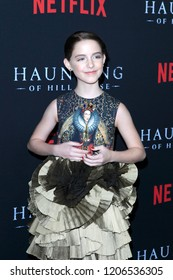 """LOS ANGELES - OCT 8:  Mckenna Grace at the """"The Haunting Of Hill House"""" Season 1 Premiere at the ArcLight Theater on October 8, 2018 in Los Angeles, CA"""