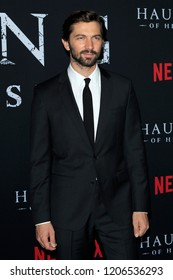 """LOS ANGELES - OCT 8:  Michiel Huisman at the """"The Haunting Of Hill House"""" Season 1 Premiere at the ArcLight Theater on October 8, 2018 in Los Angeles, CA"""