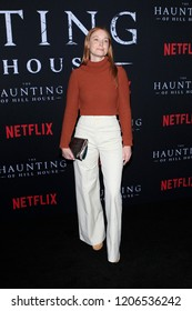 "LOS ANGELES - OCT 8:  Samantha Sloyan at the ""The Haunting Of Hill House"" Season 1 Premiere at the ArcLight Theater on October 8, 2018 in Los Angeles, CA"