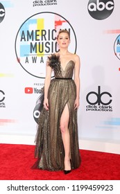 LOS ANGELES - OCT 9:  Amber Heard at the 2018 American Music Awards at the Microsoft Theater on October 9, 2018 in Los Angeles, CA