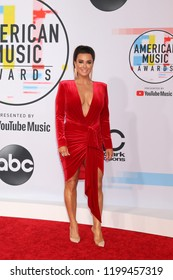 LOS ANGELES - OCT 9:  Kyle Richards at the 2018 American Music Awards at the Microsoft Theater on October 9, 2018 in Los Angeles, CA