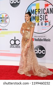 LOS ANGELES - OCT 9:  Lexy Panterra at the 2018 American Music Awards at the Microsoft Theater on October 9, 2018 in Los Angeles, CA
