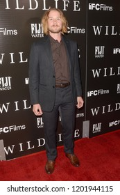"""LOS ANGELES - OCT 9:  Lou Taylor Pucci at the """"Wildlife"""" Los Angeles Premiere at the ArcLight Theater on October 9, 2018 in Los Angeles, CA"""