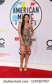 LOS ANGELES - OCT 9:  Mimi Saballa at the 2018 American Music Awards at the Microsoft Theater on October 9, 2018 in Los Angeles, CA