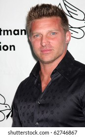 """LOS ANGELES - OCT 9:  Steve Burton arrives at the """"Evening WIth the Stars 2010"""" benefit for the Desi Geestman Foundation at Farmer's Market.Theatre on October 9, 2010 in Los Angeles, CA"""