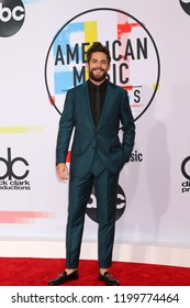 LOS ANGELES - OCT 9:  Thomas Rhett at the 2018 American Music Awards at the Microsoft Theater on October 9, 2018 in Los Angeles, CA