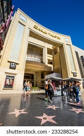 LOS ANGELES - OCTOBER 25: Dolby Theatre (Kodak Theatre) is home of Academy Awards (popularly known as the Oscars) as seen in Los Angeles (Hollywood) on October 25, 2014