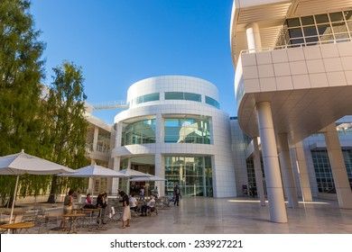 LOS ANGELES - OCTOBER 25: The J. Paul Getty Museum on October 25, 2014, commonly referred to as the Getty, is an art museum in California housed on two campuses: the Getty Center and Getty Villa.