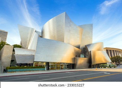 LOS ANGELES - OCTOBER 25: Walt Disney Concert hall on October 25, 2014 in LA. The concert hall houses the Los Angeles Philharmonic Orchestra and is a design by architect Frank Gehry.