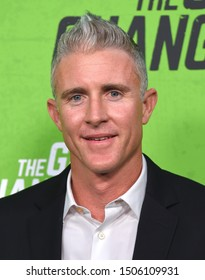 LOS ANGELES - SEP 04:  Chase Utley arrives for 'The Game Changers' Los Angeles Premiere on September 04, 2019 in Hollywood, CA