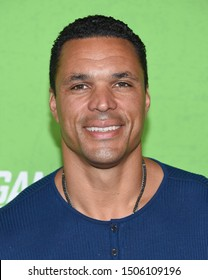 LOS ANGELES - SEP 04:  Tony Gonzalez arrives for 'The Game Changers' Los Angeles Premiere on September 04, 2019 in Hollywood, CA