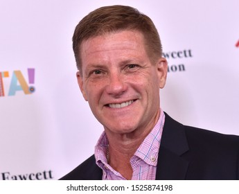 "LOS ANGELES - SEP 06:  Doug Savant arrives for the Farrah Fawcett Foundation's ""Tex-Mex Fiesta"" on September 06, 2019 in Beverly Hills, CA"