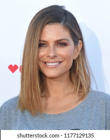 LOS ANGELES - SEP 07:  Maria Menounos arrives to the Stand Up To Cancer 2018  on September 7, 2018 in Santa Monica, CA