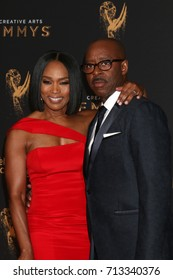 LOS ANGELES - SEP 10:  Angela Bassett, Courtney B Vance at the 2017 Creative Arts Emmy Awards - Arrivals at the Microsoft Theater on September 10, 2017 in Los Angeles, CA