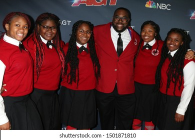 "LOS ANGELES - SEP 10:  Detroit Youth Choir at the ""America's Got Talent"" Season 14 Live Show Red Carpet at the Dolby Theater on September 10, 2019 in Los Angeles, CA"
