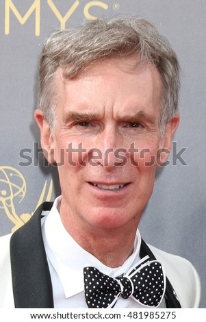 LOS ANGELES - SEP 11:  Bill Nye at the 2016 Primetime Creative Emmy Awards - Day 2 - Arrivals at the Microsoft Theater on September 11, 2016 in Los Angeles, CA