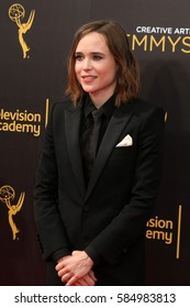 LOS ANGELES - SEP 11:  Ellen Page at the 2016 Primetime Creative Emmy Awards - Day 2 - Arrivals at the Microsoft Theater on September 11, 2016 in Los Angeles, CA