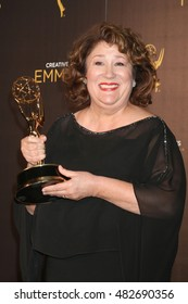 LOS ANGELES - SEP 11:  Margo Martindale at the 2016 Primetime Creative Emmy Awards - Day 2 - Press Room at the Microsoft Theater on September 11, 2016 in Los Angeles, CA