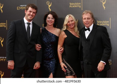 LOS ANGELES - SEP 11:  Sean Dwyer, Guest, June Hansen, Sig Hansen at the 2016 Primetime Creative Emmy Awards - Day 2 - Arrivals at the Microsoft Theater on September 11, 2016 in Los Angeles, CA
