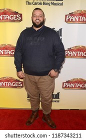 "LOS ANGELES - SEP 13:  Daniel Franzese at the ""Beautiful - the Carole King Musical"" Opening Night at the Pantages Theater on September 13, 2018 in Los Angeles, CA"