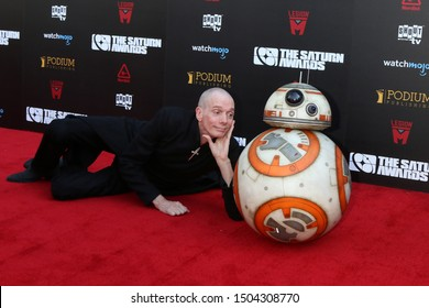 LOS ANGELES - SEP 13:  Doug Jones, BB8 at the 2019 Saturn Awards at the Avalon Hollywood on September 13, 2019 in Los Angeles, CA