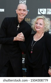LOS ANGELES - SEP 13:  Doug Jones, Laurie Jones at the 2019 Saturn Awards at the Avalon Hollywood on September 13, 2019 in Los Angeles, CA