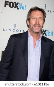 LOS ANGELES - SEP 13:  Hugh Laurie arrives at the 2010 FOX Fall Eco-Casino Party at Boa Resturant on September 13, 2010 in W. Los Angeles, CA
