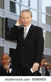 LOS ANGELES - SEP 14: Bill Maher at the Walk of Fame ceremony where Bill Maher receives the 2415th in Los Angeles, California on September 14, 2010