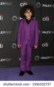 LOS ANGELES - SEP 14:  Ethan William Childress at the PaleyFest Fall TV Previews - ABC at the Paley Center for Media on September 14, 2019 in Beverly Hills, CA