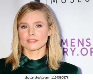 LOS ANGELES - SEP 15:  Kristen Bell at the Women Making History Awards 2018 at the Beverly Hilton Hotel on September 15, 2018 in Beverly Hills, CA