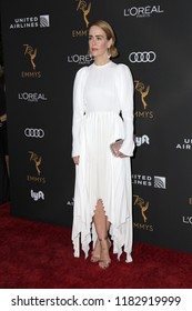 LOS ANGELES - SEP 15:  Sarah Paulson at the Television Academy Honors Emmy Nominated Performers at the Wallis Annenberg Center for the Performing Arts on September 15, 2018 in Beverly Hills, CA